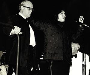 Seiji Ozawa and Dmitri Shostakovich